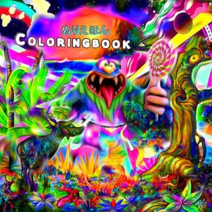 Coloringbook – Candy Island