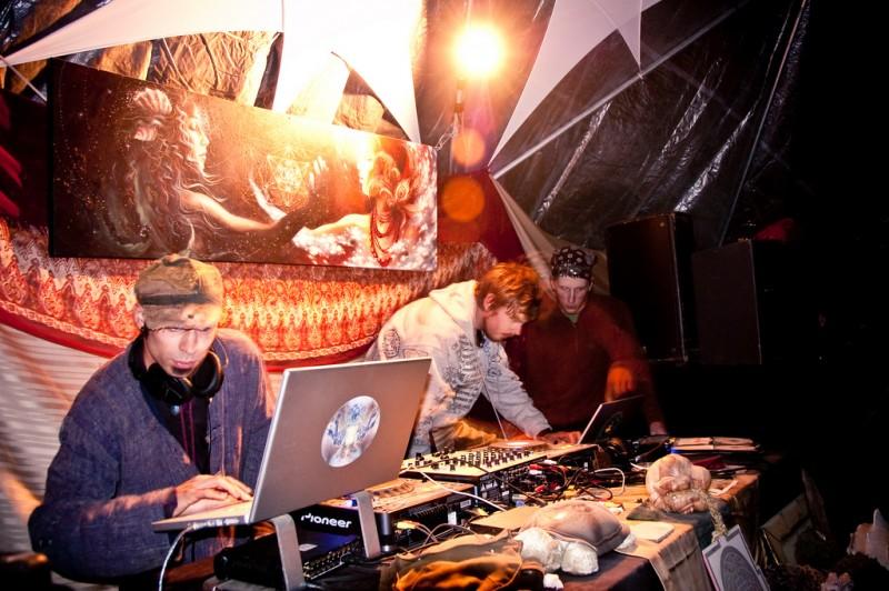 Entheos 2009: Downtempo Dome, Saturday Night