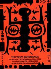Voov Experience flier from goabase.de